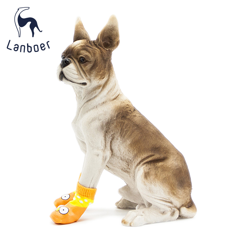 Lanboer Pet Dog Anti-slip Waterproof Shoes Dog Boots